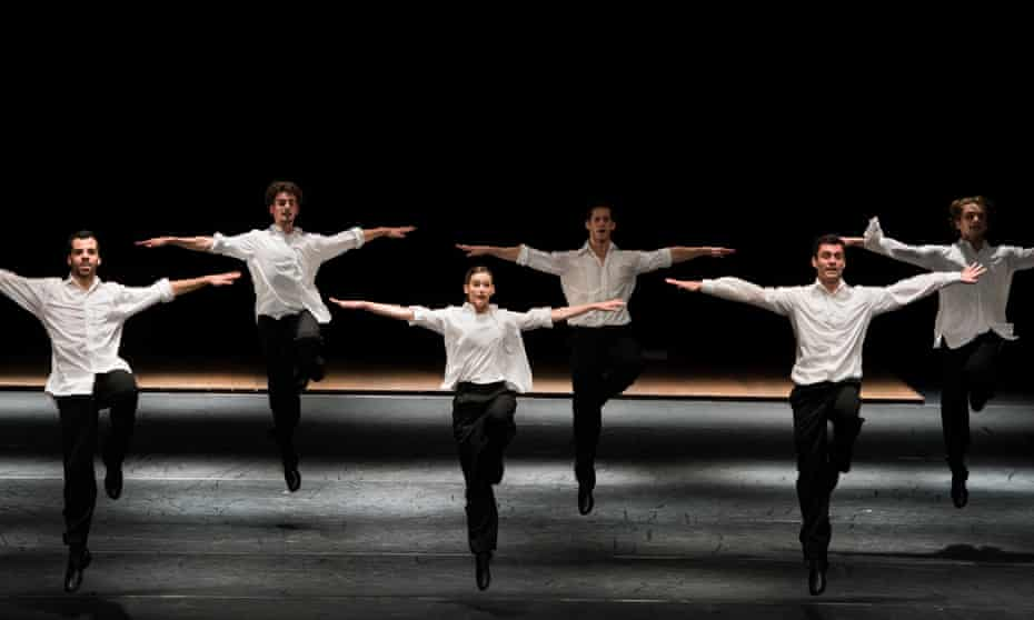 Anne Teresa de Keersmaeker's work for Trois Grandes Fugues.