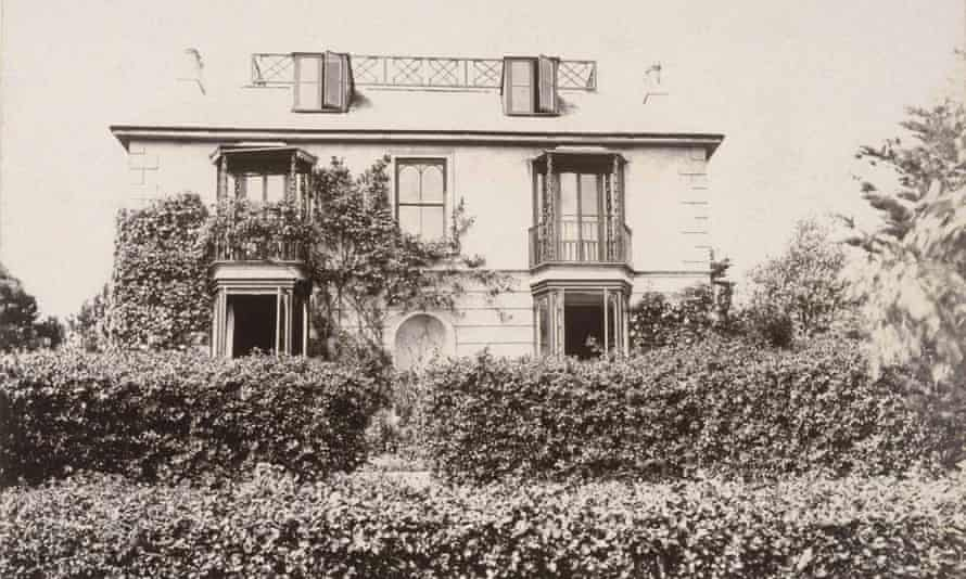 Talland House, St Ives, Cornwall, where Virginia Woolf spent childhood holidays.