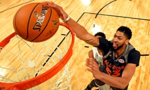 Nba All Star Game Anthony Davis Breaks Record With 52