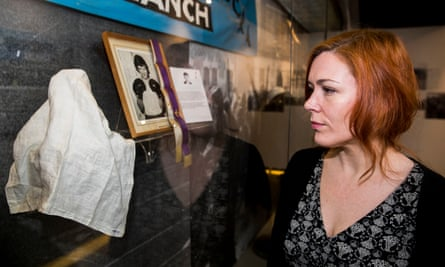 Julieann Campbell, whose 17 year old uncle Jackie Duddy was killed on Bloody Sunday