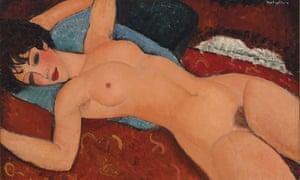 Reclining Nude by Amedeo Modigliani