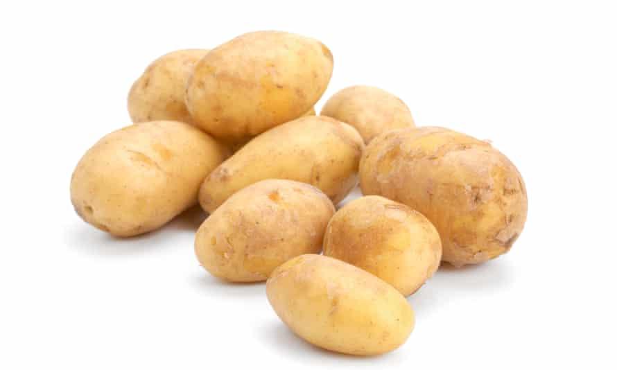 New potatoes.
