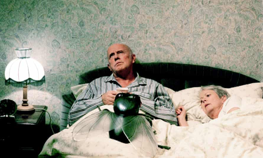 Richard Wilson (Victor Meldrew) and Annette Crosbie (Margaret) in One Foot in the Grave