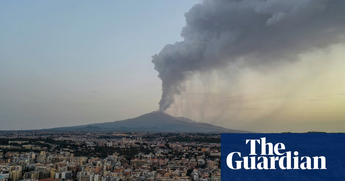 Mount Etna taller than ever as activity sparks volcanic growth spurt