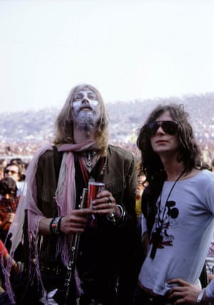 26 August 1970: festivalgoers enjoy the atmosphere