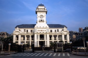 Administration Building of the First Cotton Factory, Wuchang.
