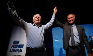 Malcolm Turnbull and John Alexander