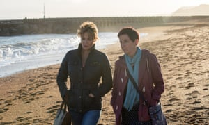 The most revelatory moment here … Trish and Cath's beachside stroll.