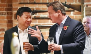 The Chinese president, Xi Jinping, expressed his preference for Britain to remain in the EU during his UK visit in October 2015.