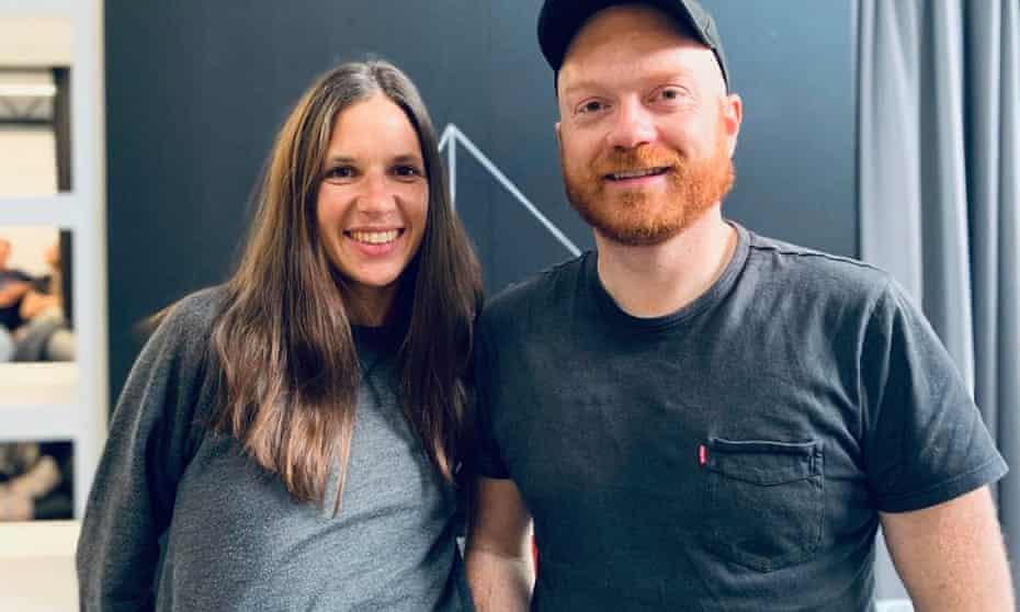 Daniel Webb and Bettina Maidment.