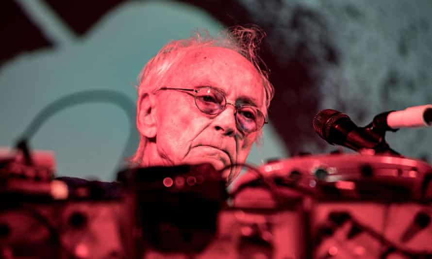 Simeon Coxe of Silver Apples on a recent tour of South America.