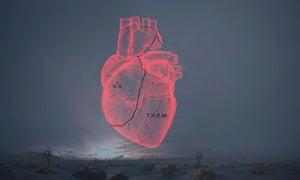 An image from Alejandro González Iñárritu's VR exhibit Carne y Arena