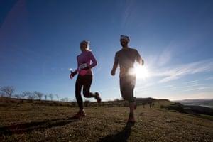 Kendal Mountain Festival 10k Trail Run on Scout Scar