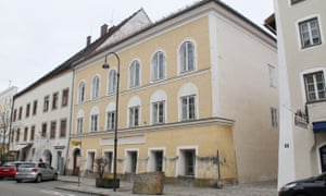 Hitler was born in the house in Braunau am Inn