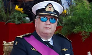 Belgium's Prince Laurent, younger sibling to King Philippe