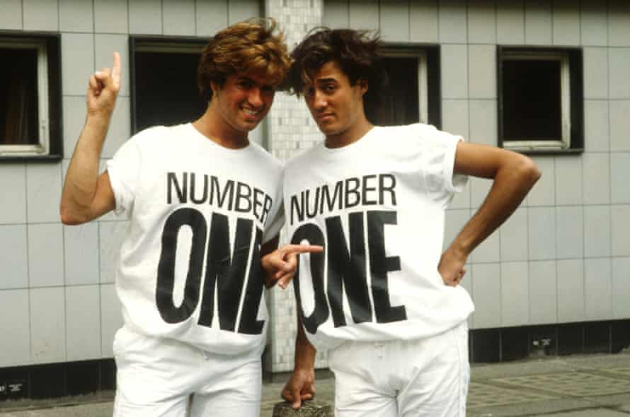 George Michael and Andrew Ridgeley in 1984.