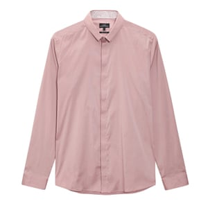 Smoke pink long sleeve shirt