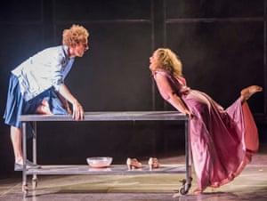 Gwilym Bowen and Donna Bateman in Il Ritorno d'Ulisse in Patria by Claudio Monteverdi.