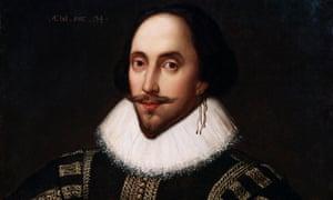 Retrato de Shakespeare, 1598.
