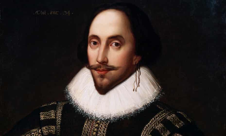 Portrait of Shakespeare, 1598.