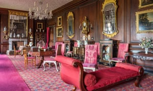 The present-day saloon at Erddig, north Wales, is a testament to Sheila Stainton's textile restoration skills. In 1975 the NT had invited her to supervise a textile conservation workroom there. Most of the fabric she found was stiff with coal dust.