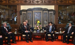 Jeh Johnson and Chinese leaders