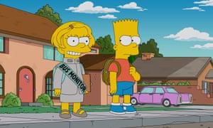A major buzzkill? … Lisa Simpson.
