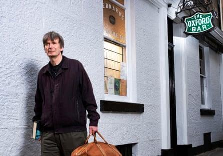 Edinburgh writer Ian Rankin exploring the city