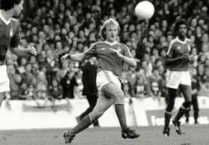 Kenny Burns' signing was initially opposed by Brian Clough but Peter Taylor pressed ahead and the Birmingham striker was turned into a successful centre-half.