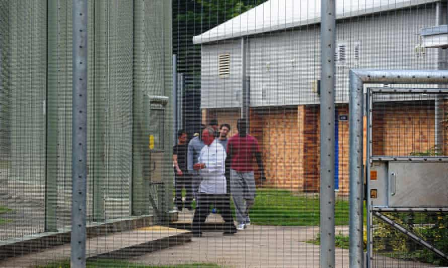 A general view of Morton Hall immigration removal centre.