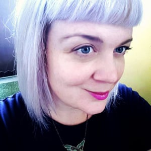 Hiding her light: Hayley Webster, who know also writes under the name Hayley Scott