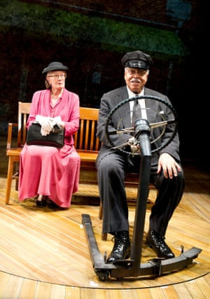 Vanessa Redgrave and James Earl Jones in Driving Miss Daisy at Wyndhams theatre in 2011