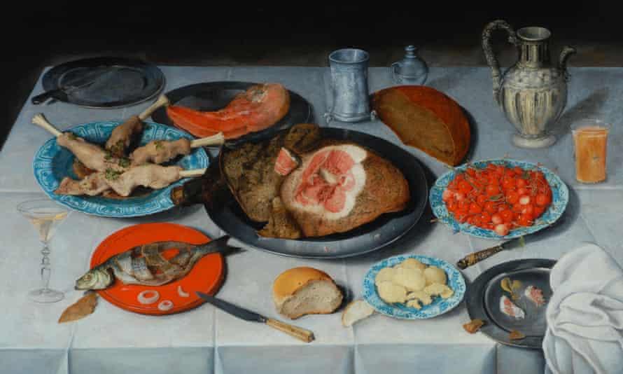Breakfast piece, 1614, Jacob van Hulsdonck.
