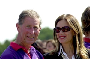 Preston with Prince Charles at a polo game in 2003.
