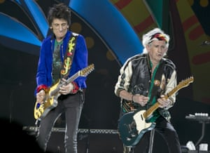 Keith Richards and Ronnie Wood team up