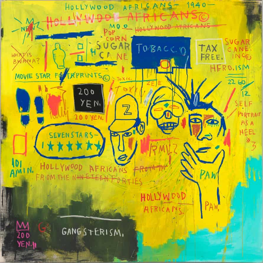 Basquiat's Hollywood Africans, 1983.
