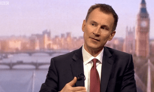 Jeremy Hunt on Andrew Marr Show