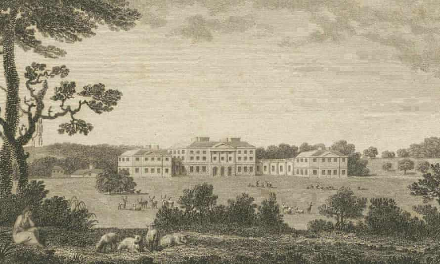 John Wallop was kept under house arrest at Hurstbourne Park, his mansion near Basingstoke, where he built a throne and declared himself king.