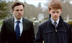 Hedges with Casey Affleck in Manchester By the Sea.