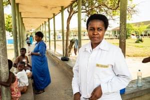 Dr Helene, photographed at Bandundu general hospital