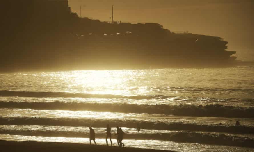 Bondi Beach in Sydney, Australia.