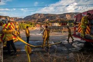 Fighting wildfires in suburban areas creates a unique health hazard.