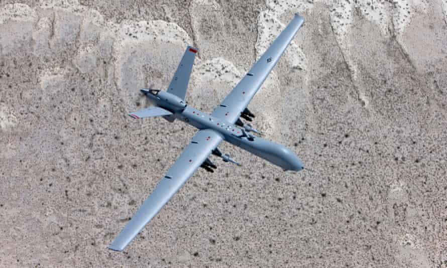 A US MQ-9 drone