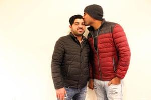 Nayyef Hrebid with Btoo Allami.