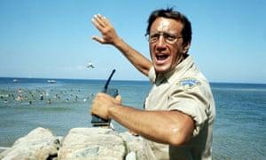 Horror ahoy … Roy Scheider as Brody.