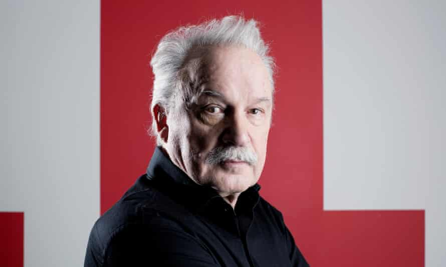 Giorgio Moroder, heading out on tour for the first time.