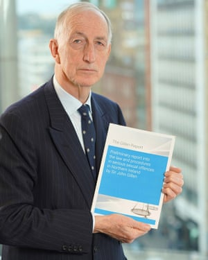 Sir John Gillen is leading an independent review into how the law in Northern Ireland deals with serious sexual offences.