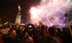 New Year celebrations in London<br>01 Jan 2015, UK