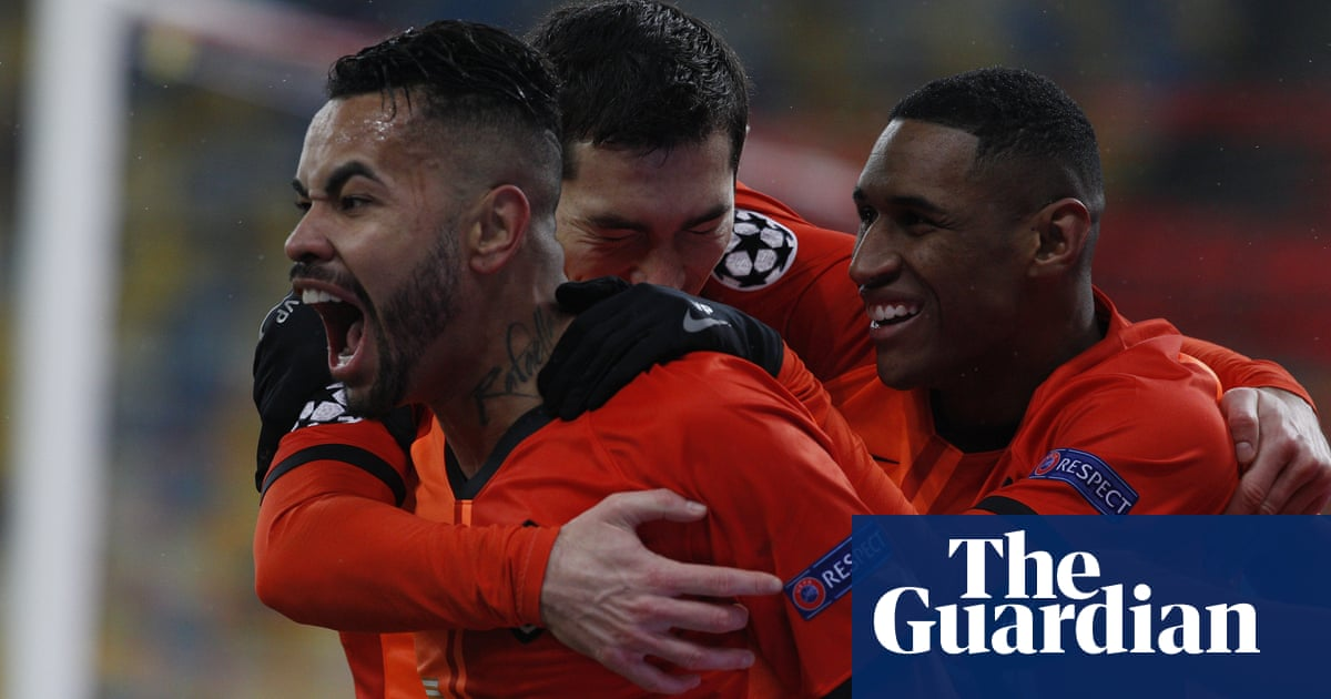 Champions League: Shakhtar sink Real Madrid again as Inter keep hopes alive
