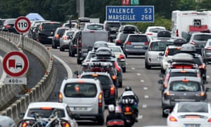 August's annual holiday rush sees millions of French families take to the roads.